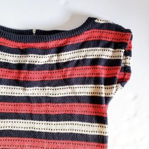Marc by Marc Jacobs Striped Knit Sweater M